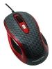 Prestigio L size mouse PJ-MSO3 Carbon-Red USB
