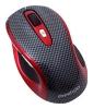 Prestigio L size mouse PJ-MSL3W Carbon-Red USB