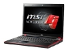 MSI GT628 (Core 2 Duo P8700 2530 Mhz/15.4