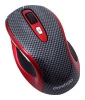 Prestigio L size mouse PJ-MSL3W Carbon-Red USB