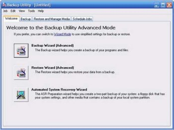 10 фактов об архивировании данных в ОС Windows XP